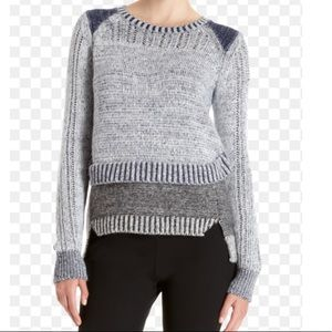 ICB Layered Knit Sweater sz M